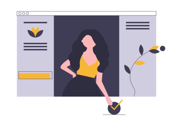 imagen de un diseño web atractivo